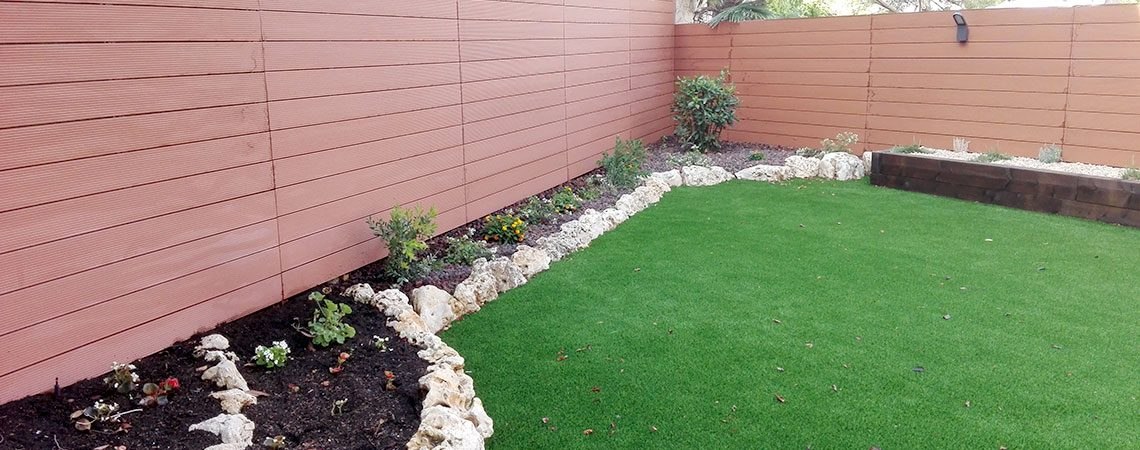 Renovació de jardí i construcció de pèrgola